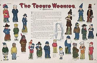 William Donahey - Teenie Weenie character description