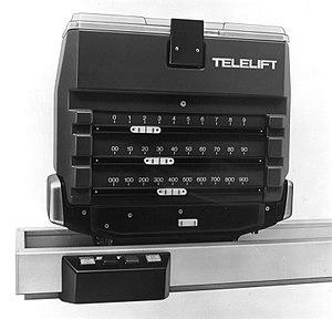 Telelift - Image: Telelift 1978