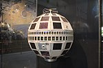 Telstar satellite, Smithsonian National Air and Space Museum, April 2019.jpg