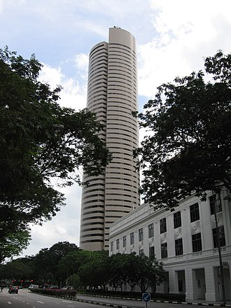 AXA Tower - Image: Temasek Tower, Jan 06