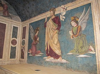 Giovanni di Piamonte - Giovanni di Piamonte's fresco of the resurrected Christ in the Rucellai Sepulchre