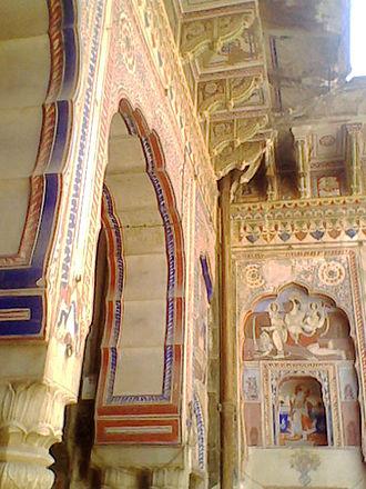 Shekhawati - This temple built by Shekhawat ruler of Nawalgarh