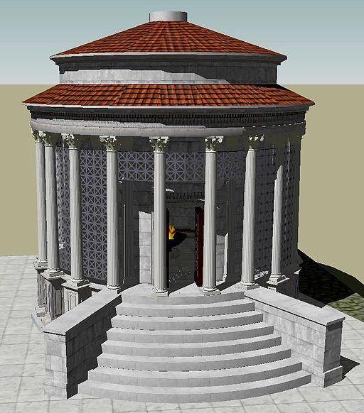 Temple of Vesta 3D