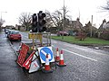 Temporary traffic lights, Roslin - geograph.org.uk - 1089561.jpg