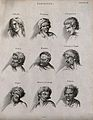 Ten faces expressing the human passions. Engraving by Barlow Wellcome V0009422ER.jpg