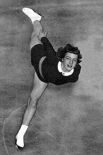 Tenley Albright - Albright in 1953