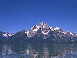 Mount Moran and Jackson Lake