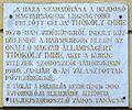 Thököly Imre plaque (Hajdúszoboszló Kálvin tér 8).jpg
