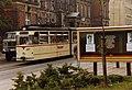 Thüringerwaldbahn tram no 207 at Gotha Post Office, Aug 1989.jpg