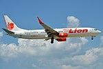 Thai Lion Air, HS-LTQ, Boeing 737-9GP ER (46939324034).jpg