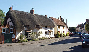 Long Crendon - Thatched houses in Long Crendon
