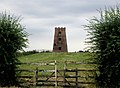 "The ""Old Windmill"" near Aldbrough Road, Garton - geograph.org.uk - 206966.jpg"