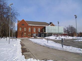 New Toronto - View of Humber College's Lakeshore Campus near Lake Shore Boulevard