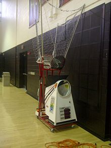 basketball shooting return machine