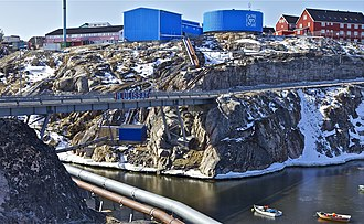 Ilulissat - Image: The Bridge panoramio (1)