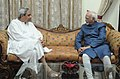 The Chief Minister of Odisha, Shri Naveen Patnaik calls on the Vice President, Shri Mohd. Hamid Ansari, in Bhubaneswar, Odisha on April 02, 2013.jpg