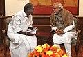 The Chief Minister of Puducherry, Shri N. Rangasamy calling on the Prime Minister, Shri Narendra Modi, in New Delhi on December 12, 2014 (1).jpg