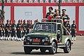 The Chief of Army Staff, General Bipin Rawat reviewing the colour presentation parade, at Belgaum, Karnataka on November 03, 2017.jpg