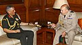 The Chief of Defence Staff, United Kingdom, Air Chief Marshal Sir Stuart Peach meeting the Chief of Army Staff, General Bipin Rawat, in New Delhi on July 20, 2017.jpg