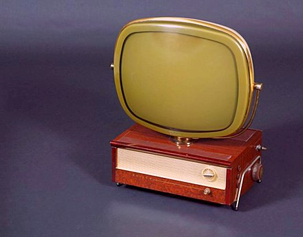 The Philco Predicta, 1958. In the collection of The Children's Museum of Indianapolis The Childrens Museum of Indianapolis - Philco Predicta television.jpg