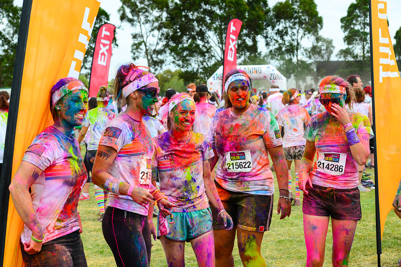 File The Color Run Grand Prix Edition Melbourne 2014