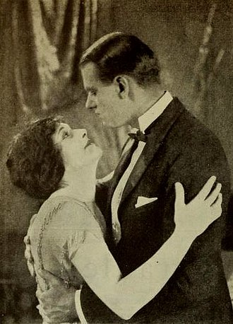 Charles Meredith (actor) - With Anna Lehr in The Cradle (1922)