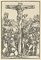 The Crucifixion, from Der beschlossen gart des rosenkranzes marie MET DP849022.jpg