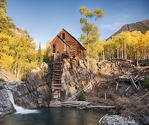 Crystal, Colorado - Image: The Crystal Mill (8047304715)