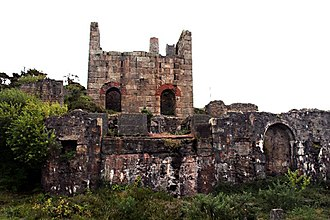 Basset Mines - Engine House at Wheal Basset Stamps