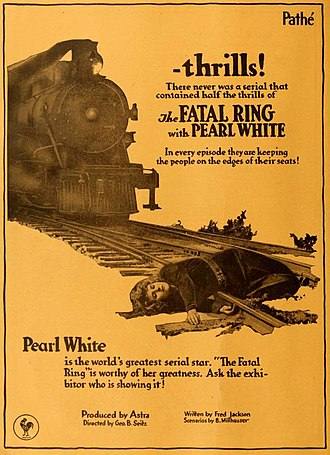The Fatal Ring - Advertisement (1917)