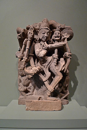 Fang - Hindu warrior goddess Chamunda.