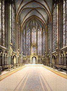 The Holy Chapel, interior, Paris, France, ca. 1890-1900.jpg