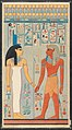The King with Isis, Tomb of Haremhab MET DP276167.jpg