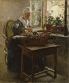 The Lace-Maker (Georg Pauli) - Nationalmuseum - 23845.tif