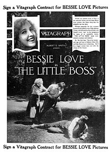 <i>The Little Boss</i> 1919 silent film by David Smith
