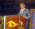 The Minister of State for Information & Broadcasting, Col. Rajyavardhan Singh Rathore addressing at the inauguration of the 14th edition of Mumbai International Film Festival – 2016, in Mumbai on January 28, 2016.jpg