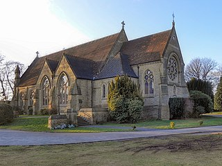 Church of St John the Divine, Brooklands Church in Greater Manchester, England