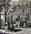 The Phillip Medhurst Picture Torah 548. A sacrifice. Leviticus cap 17 v 7. Fridrich.jpg