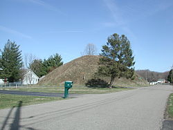 Adena Indian mounds at The Plains