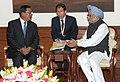 The Prime Minister of Cambodia, Mr. Hun Sen meeting the Prime Minister, Dr. Manmohan Singh, in New Delhi on December 19, 2012.jpg