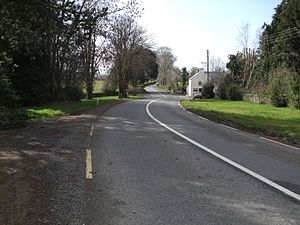R665 road (Ireland) - The R665 road between Ardfinnan and Clogheen.