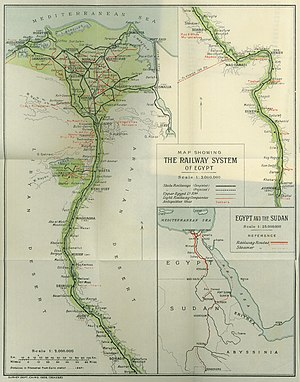 Transport in Egypt - The Railway System of Egypt