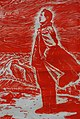 The Red Army Does Not Fear the Trials of the Long March, People's Republic of China, undated, lithograph - Jordan Schnitzer Museum of Art, University of Oregon - Eugene, Oregon - DSC09524 (cropped).jpg