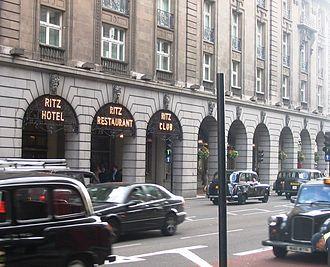Dover Street - The Ritz Hotel is opposite Dover Street