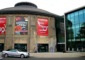 Roundhouse (venue) - Main entrance to the Roundhouse