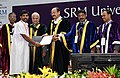The Vice President, Shri M. Venkaiah Naidu giving away degrees to the Students at the Special Convocation 2017 of SRM University, in Chennai (2).jpg
