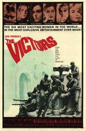 The Victors (film) - Image: The Victors poster