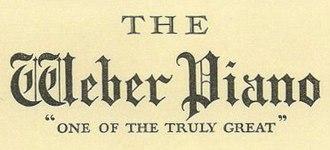 Weber Piano Company - Weber Piano logo from the early 1900s