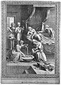 The birth of the Virgin Mary, Anna is being attended upon wh Wellcome L0014256.jpg
