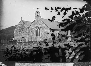 The church, Llanfair Talhaearn